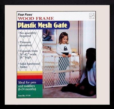 Mesh Dog Gate front-896327