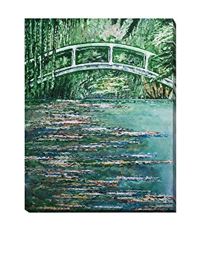 Diane Griffiths Inspirations Of Monet Weather-Resistant Canvas Print