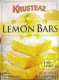 Krusteaz Lemon Supreme Bars, 19-Ounce Boxes (Pack of 2)