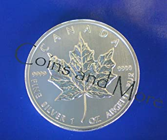 2012 Canadian Silver Maple Leaf 1 oz Coin in Airtite Capsule