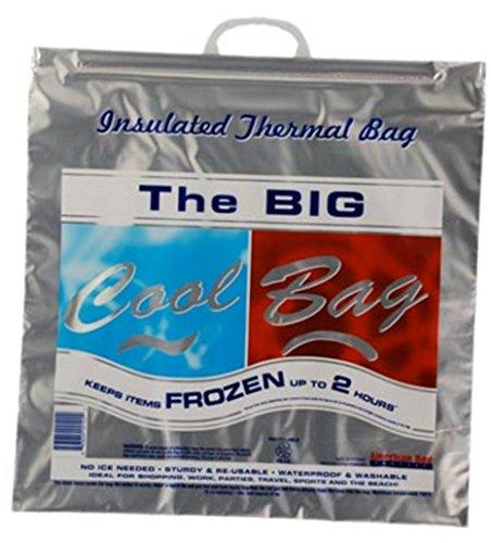Insulated Bag | Thermal Bag | Hot Cold Bag 2 Hour (1 Jumbo Flat Bag) - 1