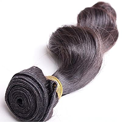 """Taobaopit Mixed Length 16"""" 18"""" 20"""" Loose Wave Brazilian Virgin Remy Human Hair Weave Weft 3 Bundles 300 Grams Unprocessed Natural Color Extensions 100% Brazilian Human Hair Extensions"""