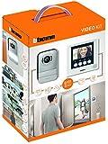 """Bticino 316913 Kit Videocitofoni 2 Fili, 4.3"""" a colori, Mono/Bifamiliare, Bianco"""
