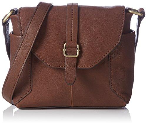 Marc O'PoloCrossbody Bag - Borsa a tracolla Donna , Marrone (Braun (cognac 720)), 31x22x7 cm (B x H x T)