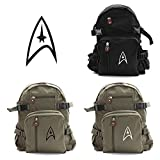 Star Trek Federation Army Sport Heavyweight Canvas Backpack Bag
