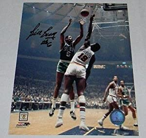 BILL RUSSELL AUTOGRAPHED SIGNED BOSTON CELTICS 8x10 PHOTO VS WILLIS REED -... by Sports+Memorabilia
