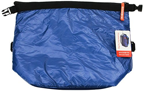Goodbyn Roll Top Insulated Lunch Bag, Dark Blue