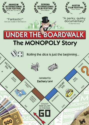 Cover art for  Under the Boardwalk: The Monopoly Story