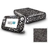 Nintendo Wii U Console and GamePad Decal skin Sticker - Grey Leopard