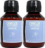 Set de dos botellas de Aceite de Semilla de Camelia Puro 100ml cada una. prensado en frio Envío super rápido desde España
