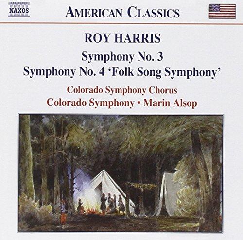 Harris: Symphony No. 3 / Symphony No. 4: Folk Song Symphony (American Classics) (Roy Harris Symphony 3 compare prices)