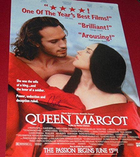 Vincent Perez Queen Margot Hand Signed Autographed 27x40 Movie Theatre Poster Loa