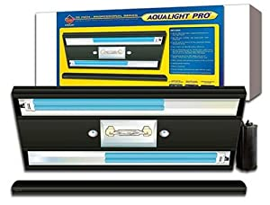 Coralife 05417 Aqualight Pro Metal Halide Aquarium Light Fixture, 36-Inch
