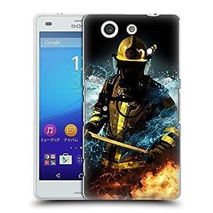 Official Jason Bullard Fireman 1 Firefighter Hard Back Case for Sony Xperia A4