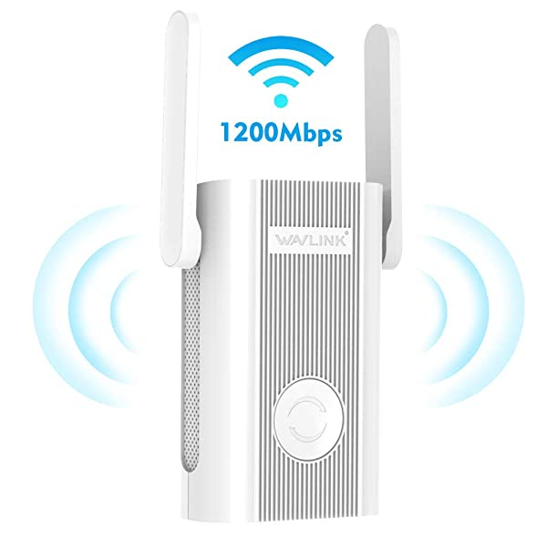 Wavlink [Newest 2019] WiFi Range Extender/High Speed Signal Booster/WiFi Coverage Up to 1200 Mbps with Dual Band 5Ghz+ 2.4Ghz Works Any Router(575A4-2) (Color: 1)