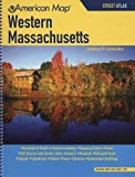 American Map: Western Massachusetts Street Atlas