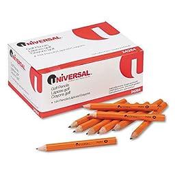 Integra Golf Pencil, 3-1/2-inch Pre Sharpened, 144/box, Yellow