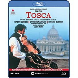 Tosca: Live in Rome [Blu-ray] starring Placido Domingo