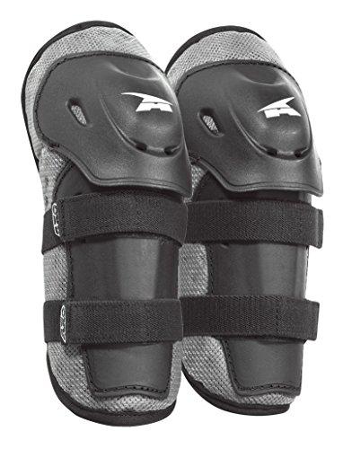 axo-pee-wee-knee-guard-jr-protettori-per-ginocchia-da-bambini-taglia-unica-grigio