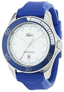 Lacoste Sport Navigator White Dial Blue Mens Watch 2010551