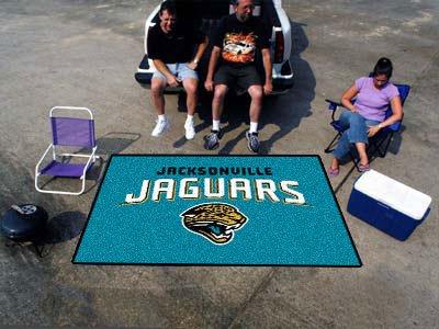"""Team Fan Gear Fanmats Jacksonville Jaguars Ulti-Mat 60""""96"""" NFL-5781"""