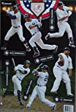 2012 NY Yankees Fathead MLB 6 Player Team Set Official Wall Graphics