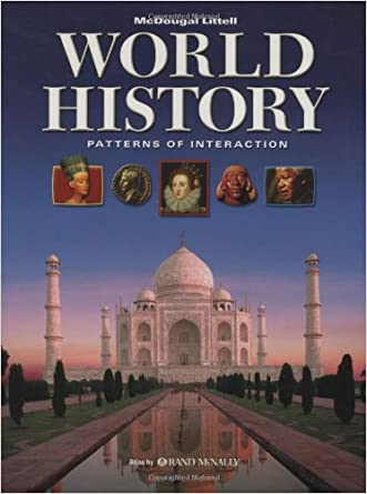World History: Patterns of Interaction: Student Edition 2007 written by MCDOUGAL LITTEL