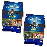 バスマティ ライス インド産 2kg 【1kg×2袋】 Kohinoor Basmati Rice