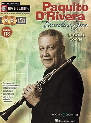 Paquito D'Rivera - Brazilian Jazz: Jazz Play-Along Volume 113