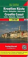 Carte routière : Croatia Coast - Istria Dalmatie Dubrovnik
