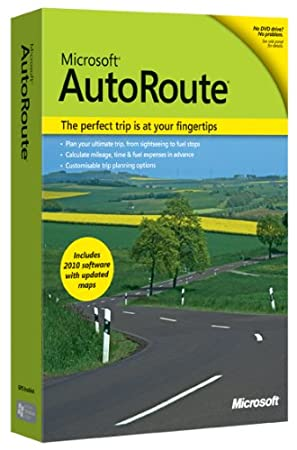 Microsoft  Autoroute Europe 2010 (PC DVD) [import anglais]