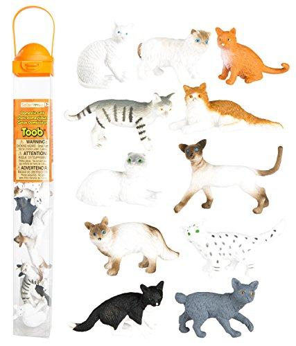 Safari-Ltd-Domestic-Cats-Toob-Hand-Painted-Toy-Figurines-Set-of-11