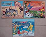 img - for Jerry Pallotta Alphabet Book Set of 3 (The Furry Animal Alphabet Book ~ The Butterfly Alphabet Book ~ The Underwater Alphabet Book) book / textbook / text book