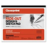 "Chartpak - Grid Paper Pad, 20lb., 30Degree Isometric,8-1/2""x11"",30 SHT, Sold as 1 Pad, CLE 932811ISO"