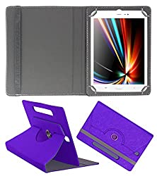Acm Designer Rotating Case For Iberry Auxus Core X8 Stand Cover Purple