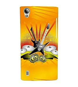 EPICCASE Florence Orange Band Mobile Back Case Cover For Vivo Y15 (Designer Case)