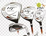 51cK1xWPQEL. SL160  Affinity/Orlimar Golf Mens HT Edition Golf Club Set; with Hybrid Irons Right Hand Cadet Length; Fast Shipping!, GRAPHITE SHAFT WOODS; 3&4 HYBRIDS; U CUT 5 IRON through PITCHING WEDGE