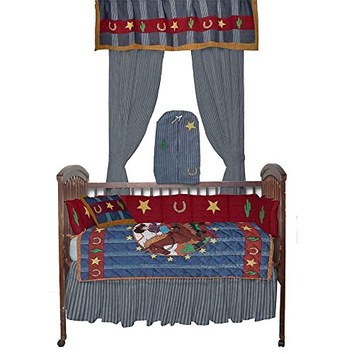Patch Magic Lil Buckaroo Crib Bedding