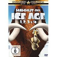 Ice Age 1, 2, 3 & 4 (Mammut-Box) [4 DVDs]