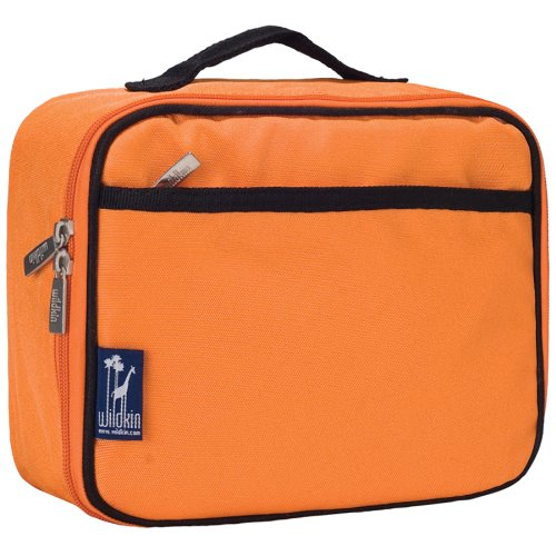 Wildkin 33502 Solid Color Collection - Navel Orange Lunch Bo