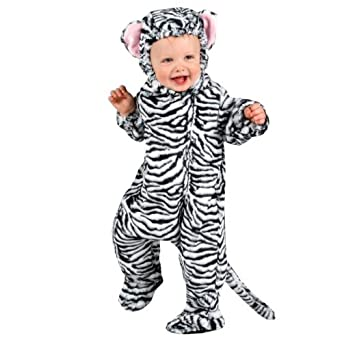 Animal Planet Collector's Edition White Tiger Cub Infant Halloween Costume (Infant 18-24 Months)