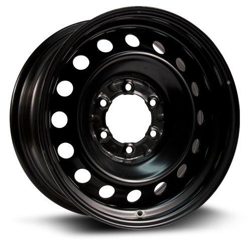 Steel Rim 16X7, 6X139.7, 106, +30, black finish (MULTI APPLICATION FITMENT) X45483 (Rims 16 For Toyota Pickup 1994 compare prices)