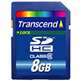 Transcend 8GB SDHC Class 6
