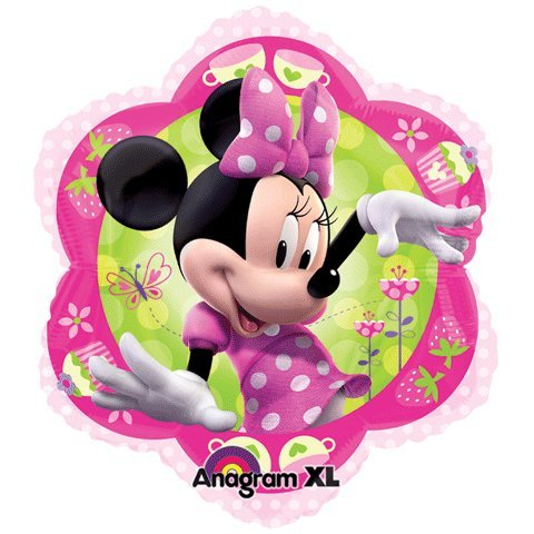 "Minnie Mouse Pink Flower Shape 18""  Mylar Foil Balloon"