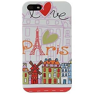 Akashi ALTCI41121237SH Paris Design Coque pour iPhone 4/4S