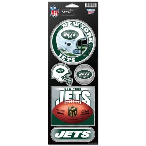 New York Jets Prismatic Stickers at Amazon.com