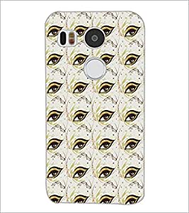 PrintDhaba Eye Ptter D-5205 Back Case Cover for LG NEXUS 5X (Multi-Coloured)