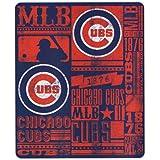"MLB Team ""Vintage Baseball"" Lightweight Fleece Throw Blanket"