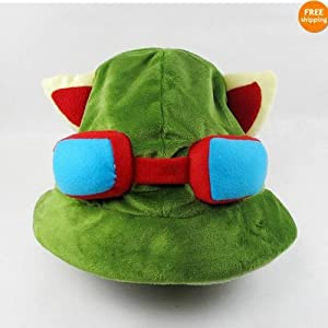 League of Legends LOL Chapeau Teemo Cosplay 100% NEUF Costume