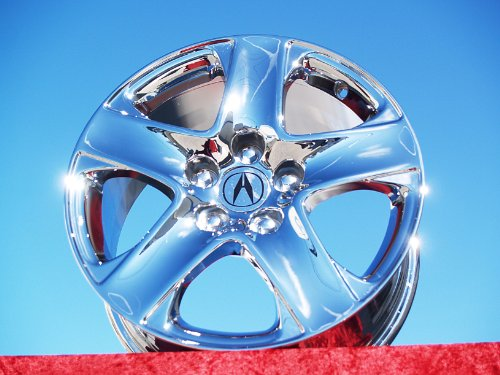 Acura RL: Set of 4 genuine factory 17inch chrome